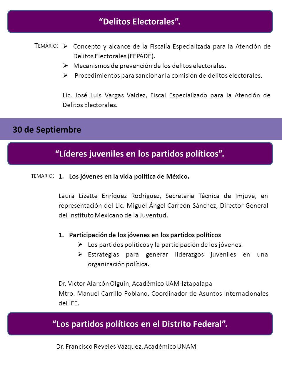Delitos Electorales .