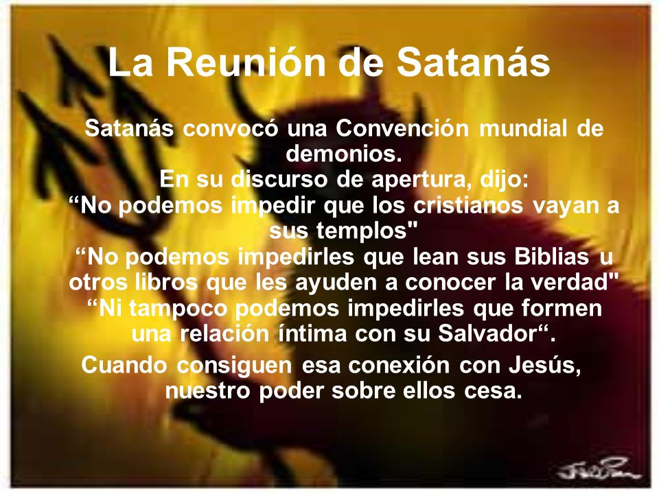 La Reunión de Satanás