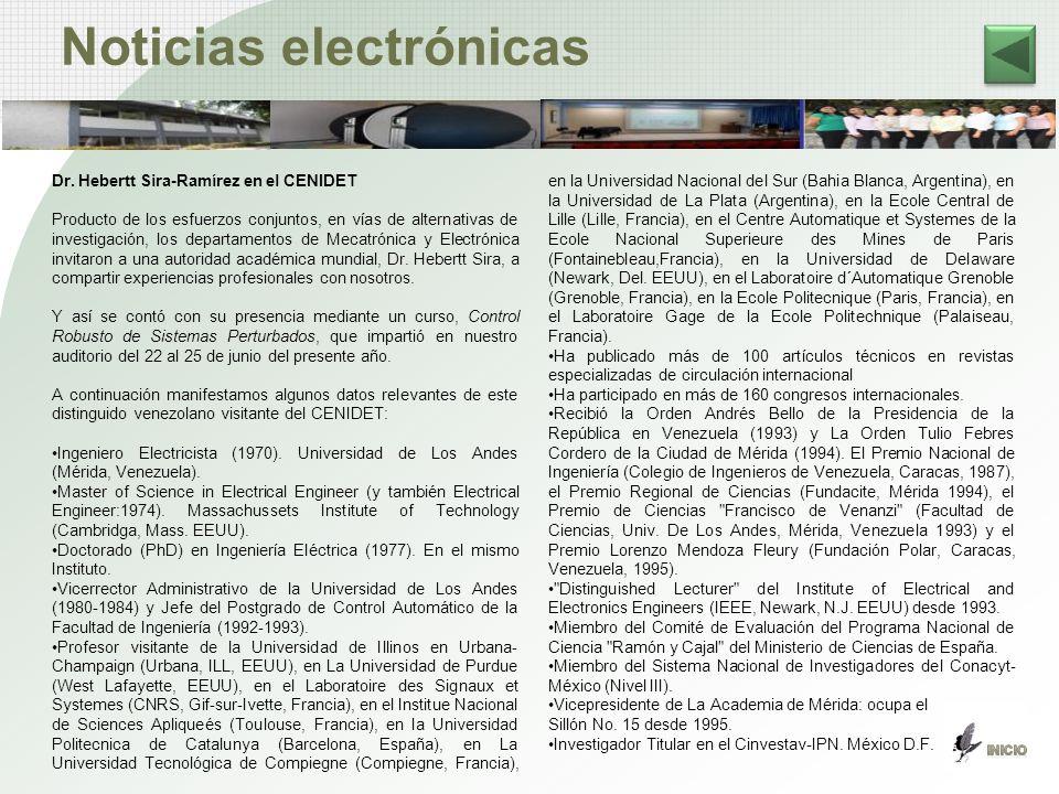 Noticias electrónicas