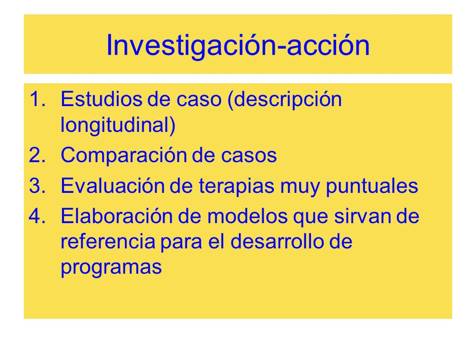 Investigación-acción