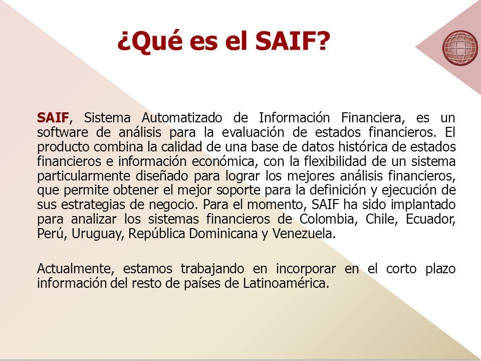 ¿Qué es el SAIF