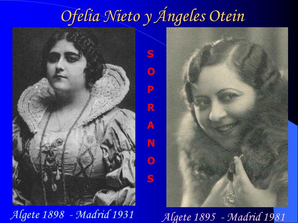 Ofelia Nieto y Ángeles Otein