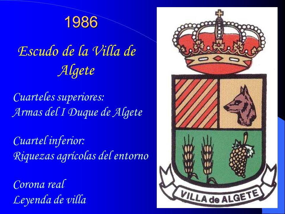 Escudo de la Villa de Algete