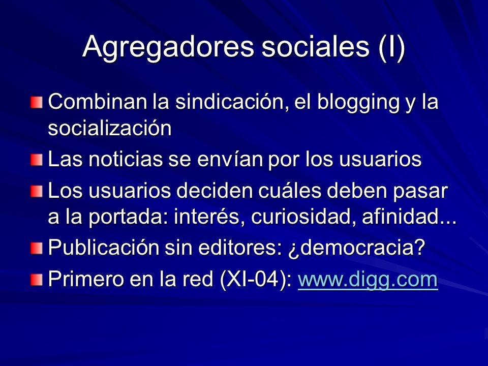 Agregadores sociales (I)