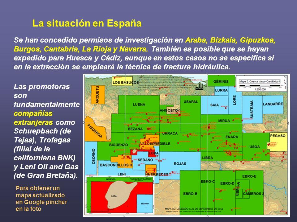 La situación en España