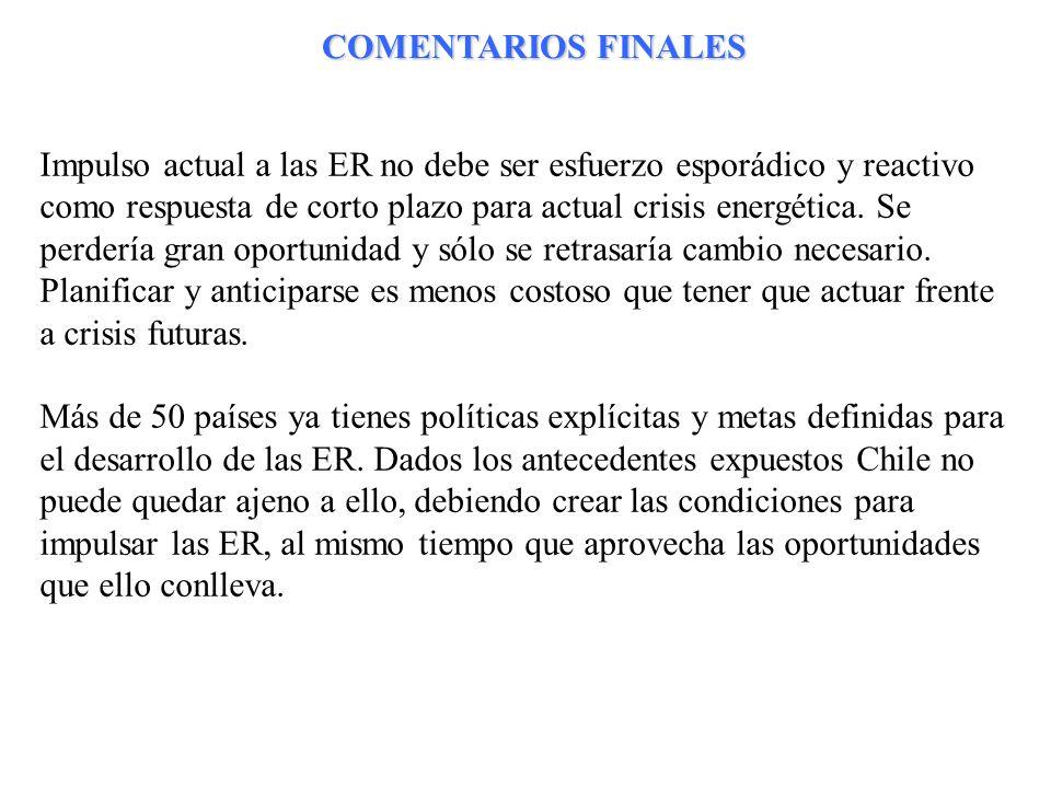 COMENTARIOS FINALES