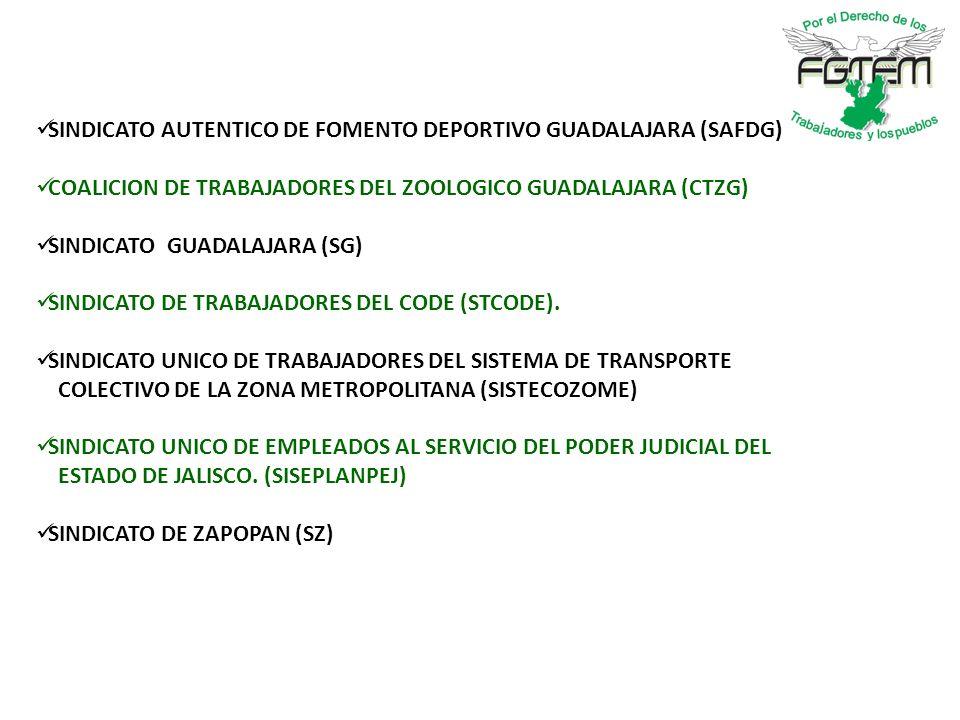 SINDICATO AUTENTICO DE FOMENTO DEPORTIVO GUADALAJARA (SAFDG)