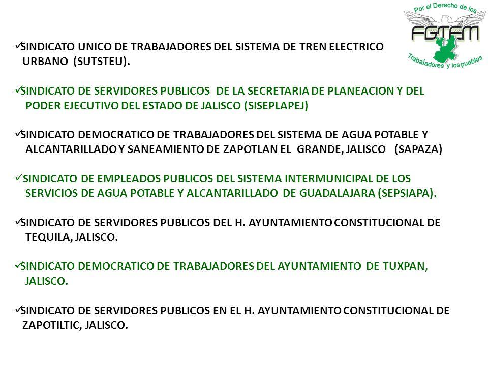 SINDICATO UNICO DE TRABAJADORES DEL SISTEMA DE TREN ELECTRICO