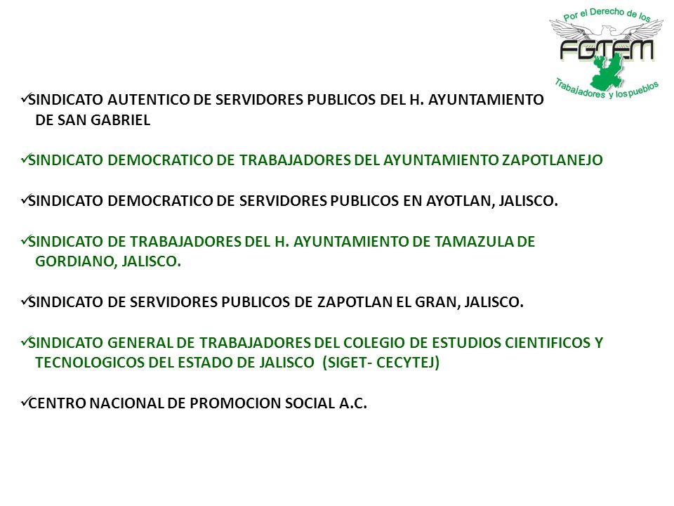 SINDICATO AUTENTICO DE SERVIDORES PUBLICOS DEL H. AYUNTAMIENTO