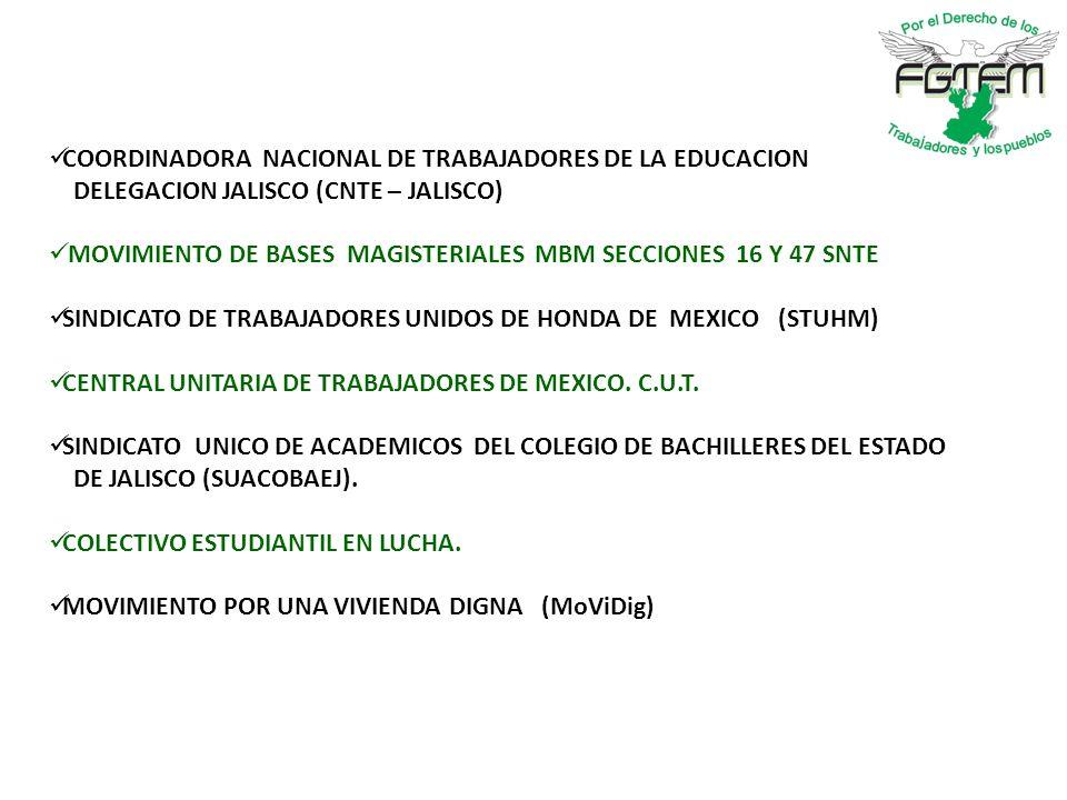 COORDINADORA NACIONAL DE TRABAJADORES DE LA EDUCACION
