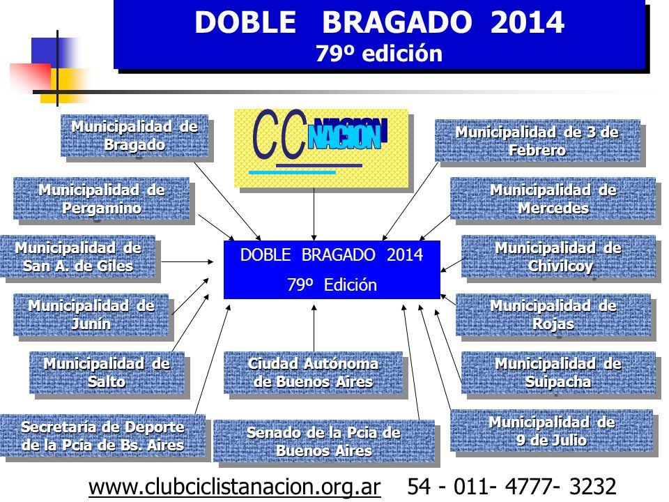 CCC C NACION DOBLE BRAGADO 2014 79º edición
