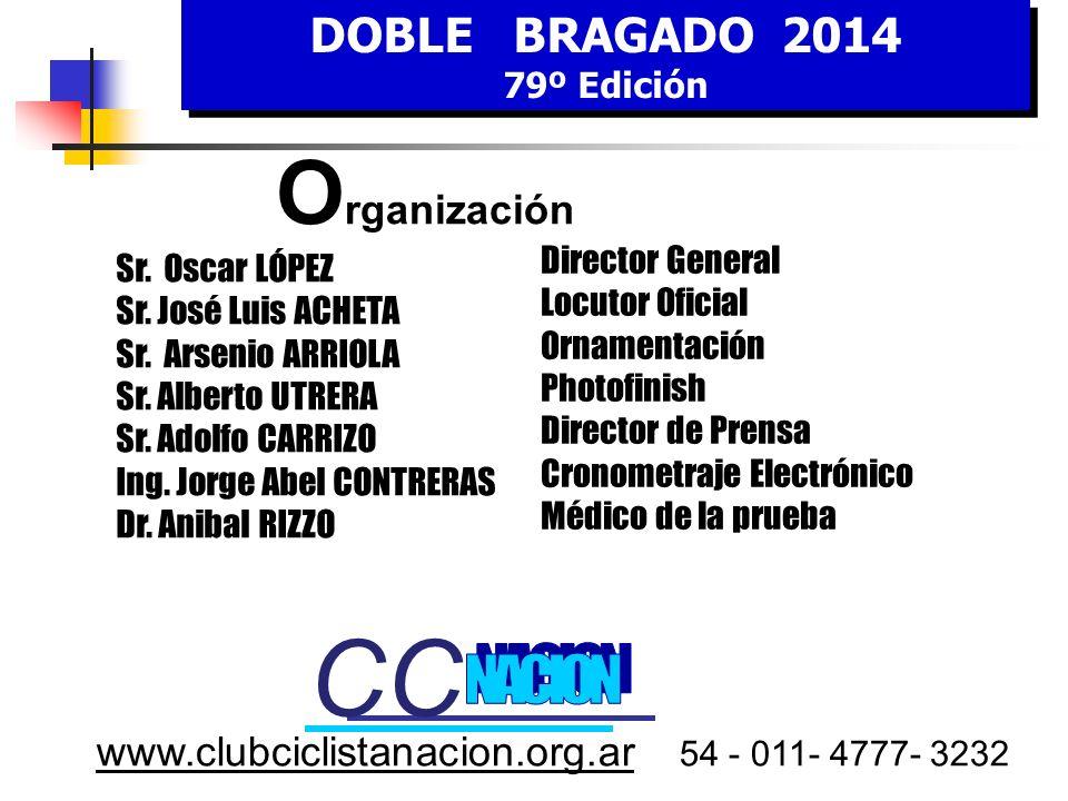 www.clubciclistanacion.org.ar 54 - 011- 4777- 3232