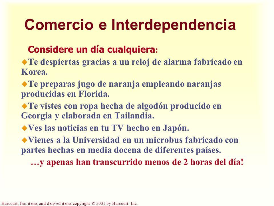 Comercio e Interdependencia