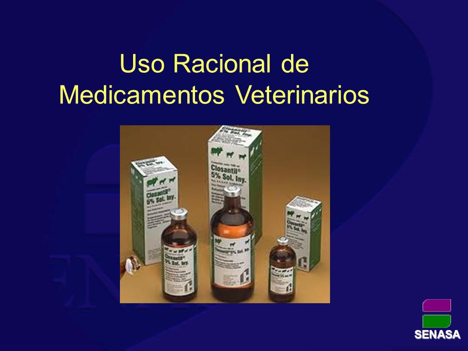 Uso Racional de Medicamentos Veterinarios