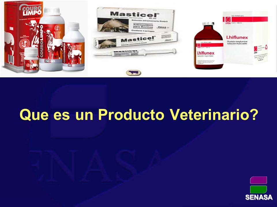 Que es un Producto Veterinario
