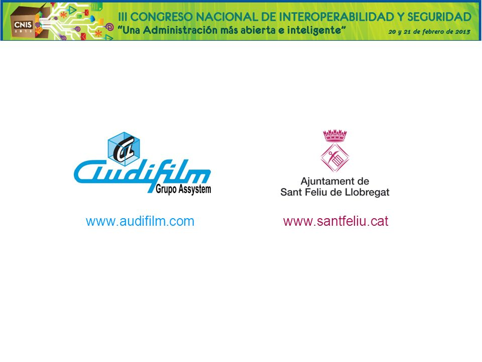 www.audifilm.com www.santfeliu.cat