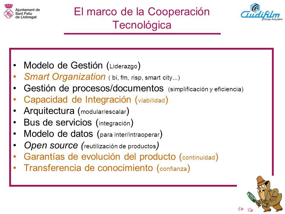 El marco de la Cooperación Tecnológica
