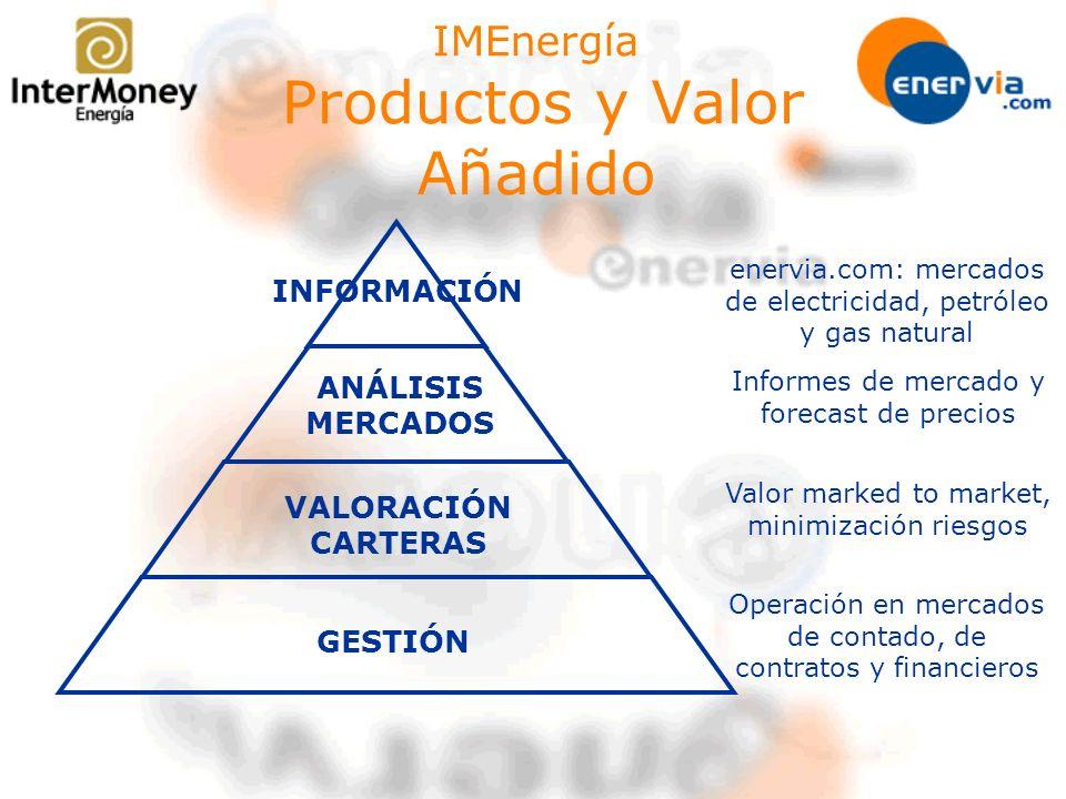 IMEnergía Productos y Valor Añadido