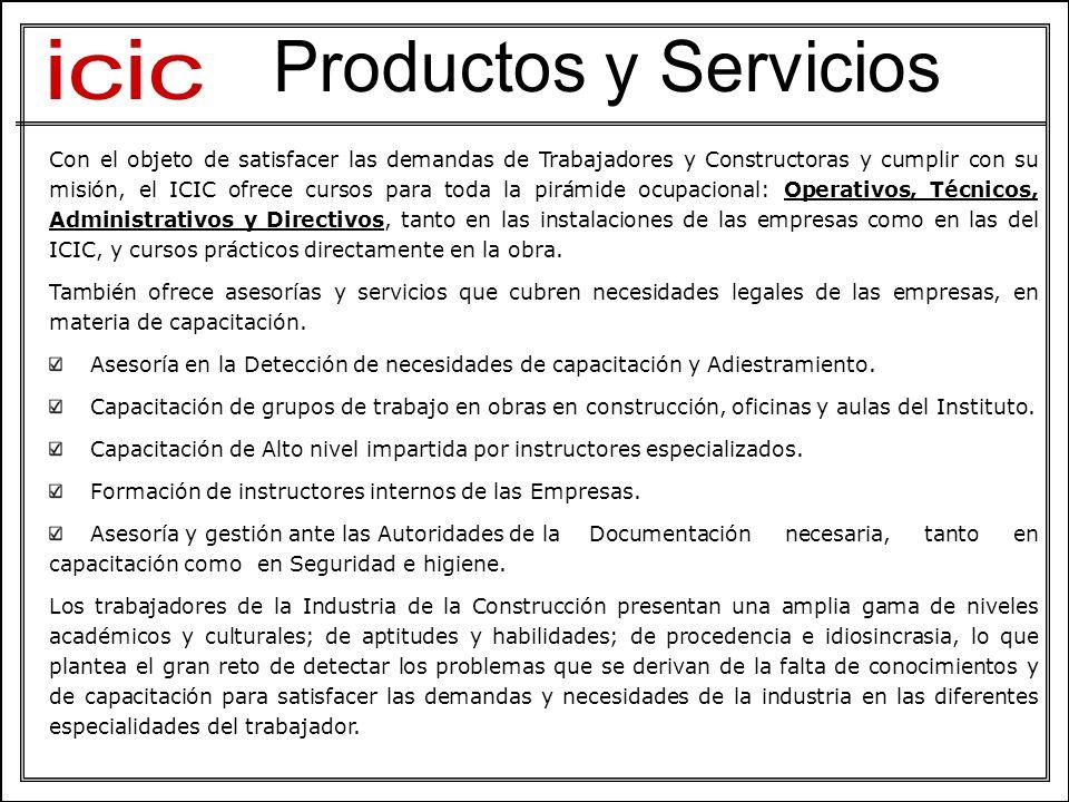 icic Productos y Servicios