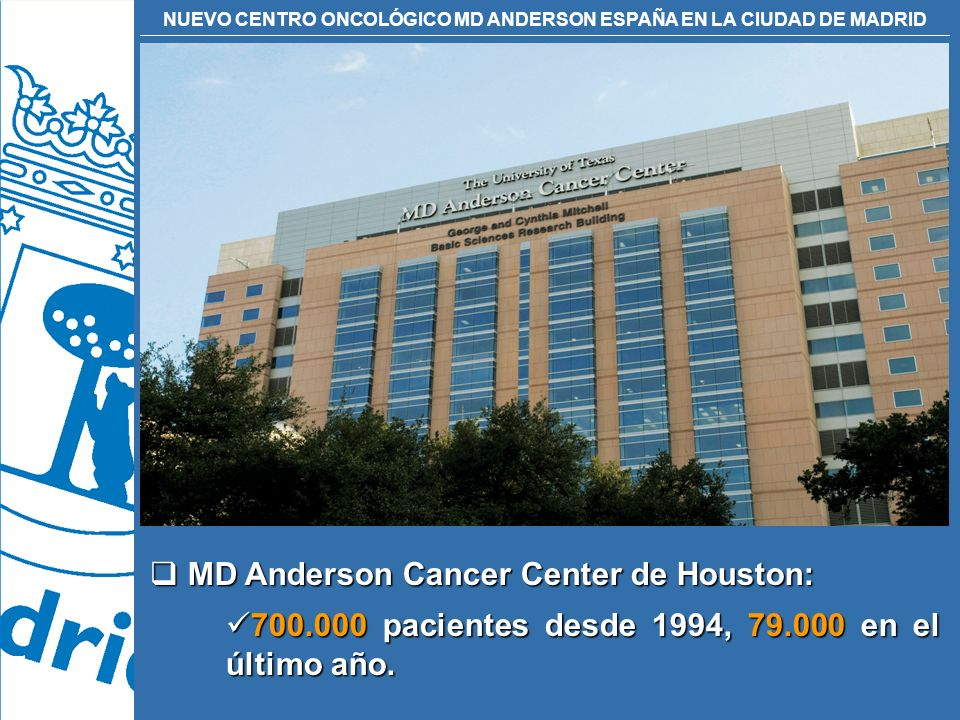 MD Anderson Cancer Center de Houston: