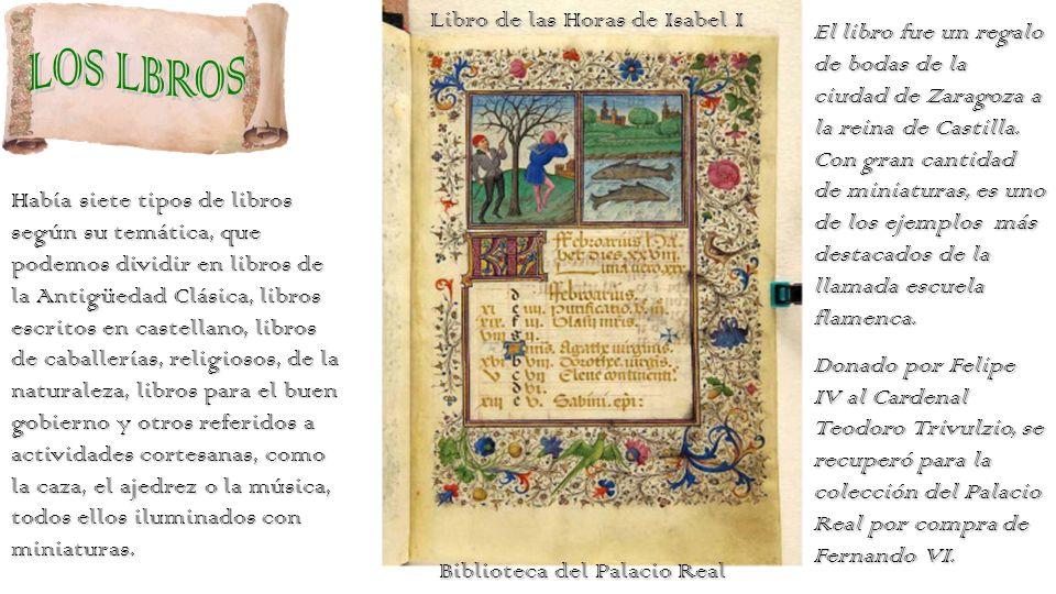 LOS LBROS Libro de las Horas de Isabel I