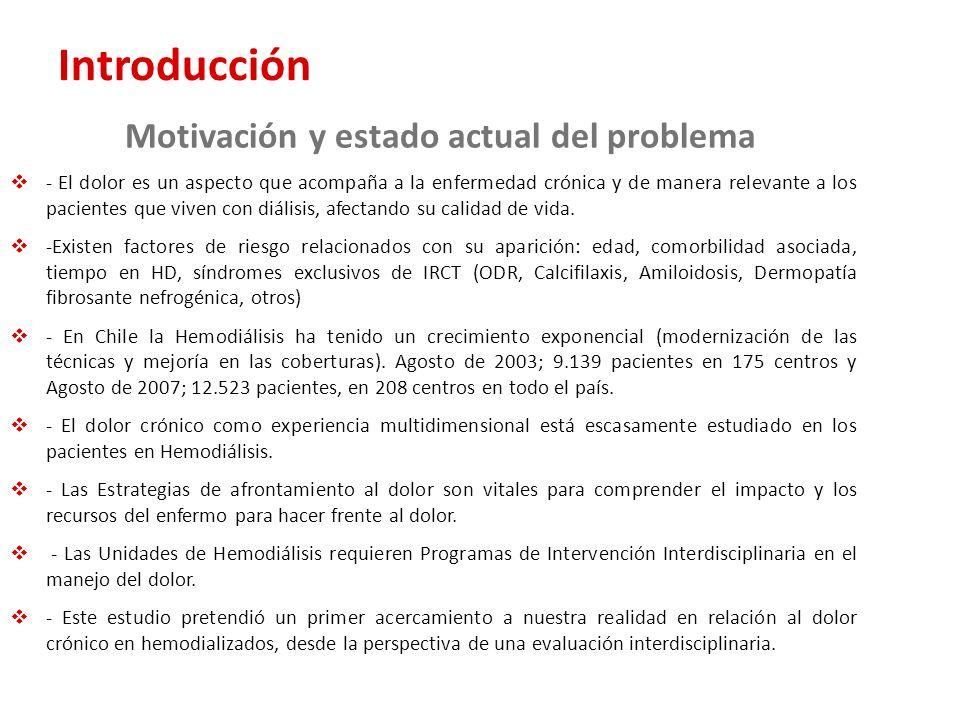 Introducción Motivación y estado actual del problema