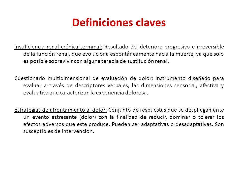 Definiciones claves
