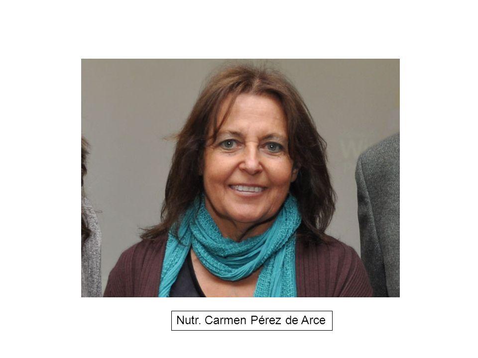 Nutr. Carmen Pérez de Arce
