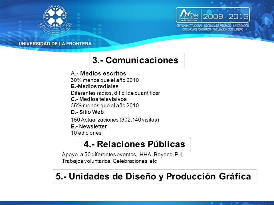 5.- Unidades de Diseño y Producción Gráfica