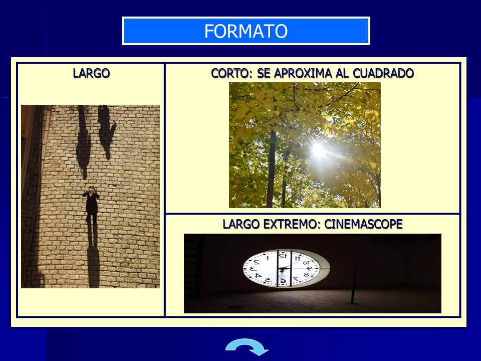 FORMATO LARGO CORTO: SE APROXIMA AL CUADRADO