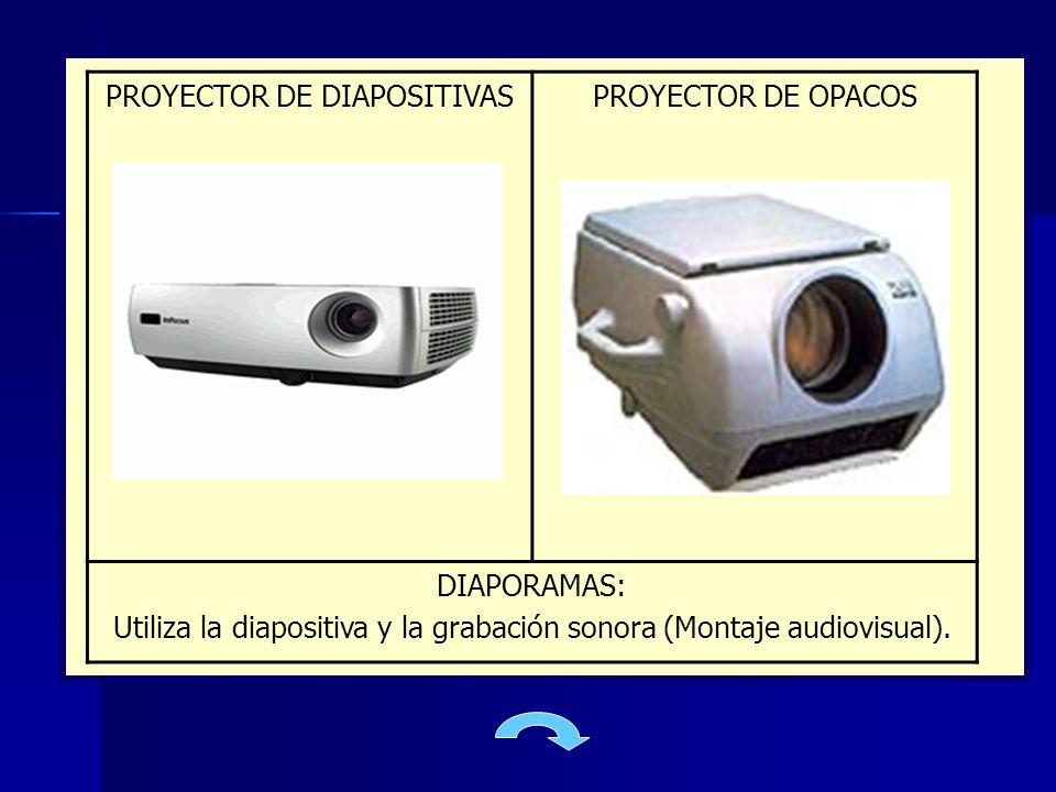 PROYECTOR DE DIAPOSITIVAS PROYECTOR DE OPACOS