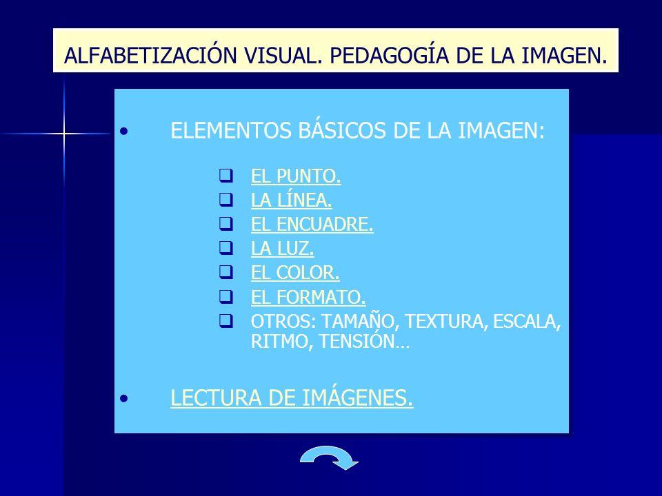 ALFABETIZACIÓN VISUAL. PEDAGOGÍA DE LA IMAGEN.