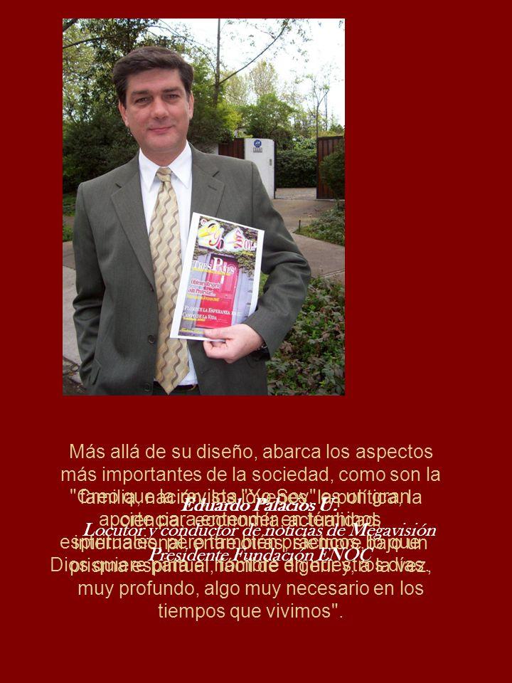 Locutor y conductor de noticias de Megavisión