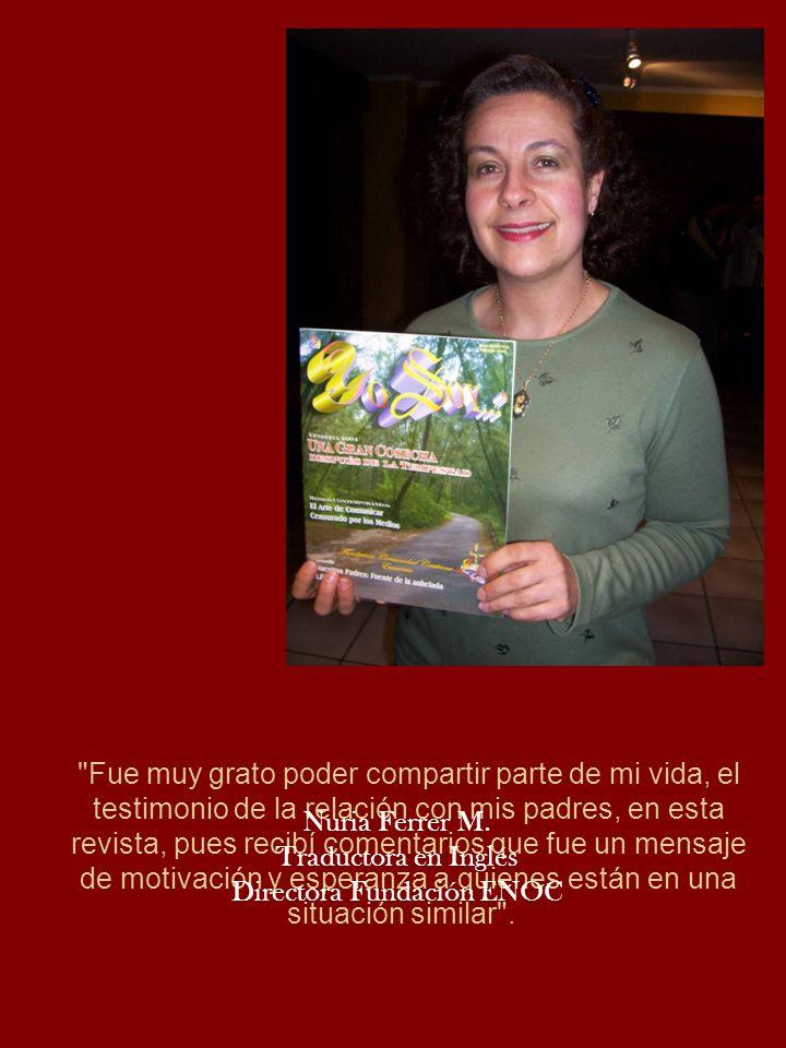 Directora Fundación ENOC