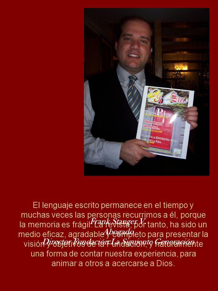 Director Fundación La Siguiente Generación