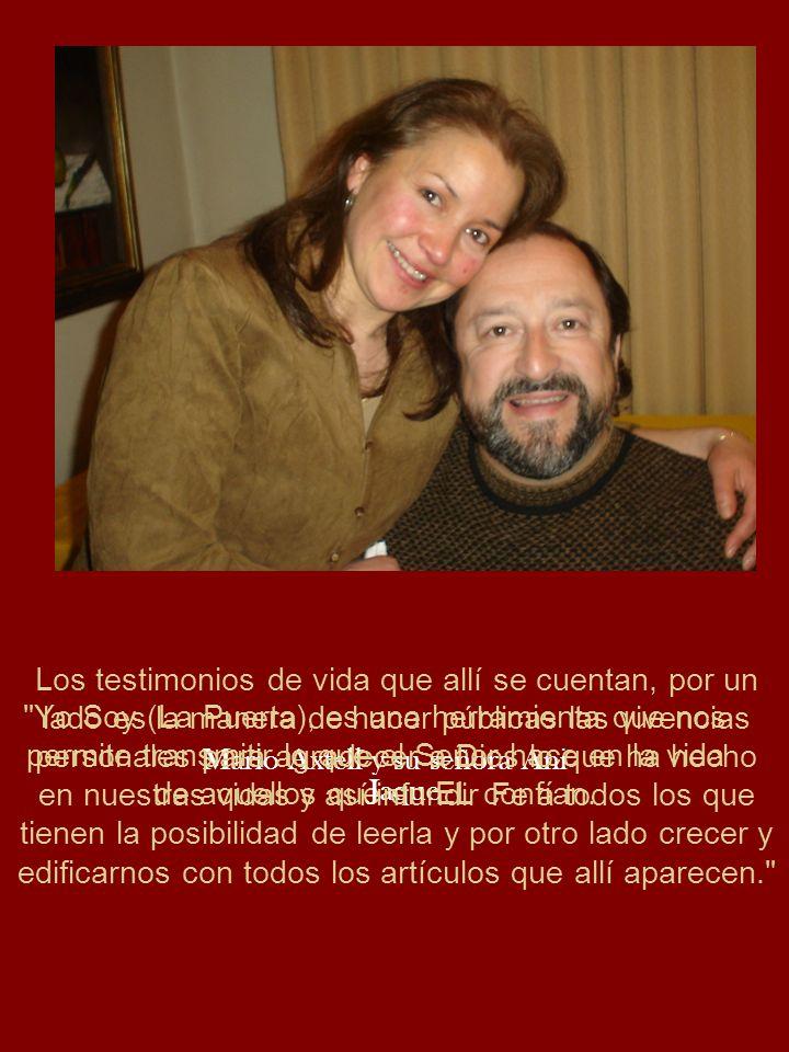 Mario Axtell y su señora Ani Jaque