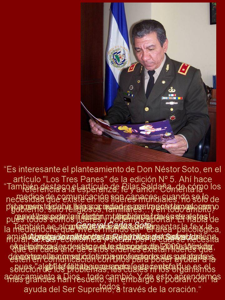Agregado militar de la República del Salvador