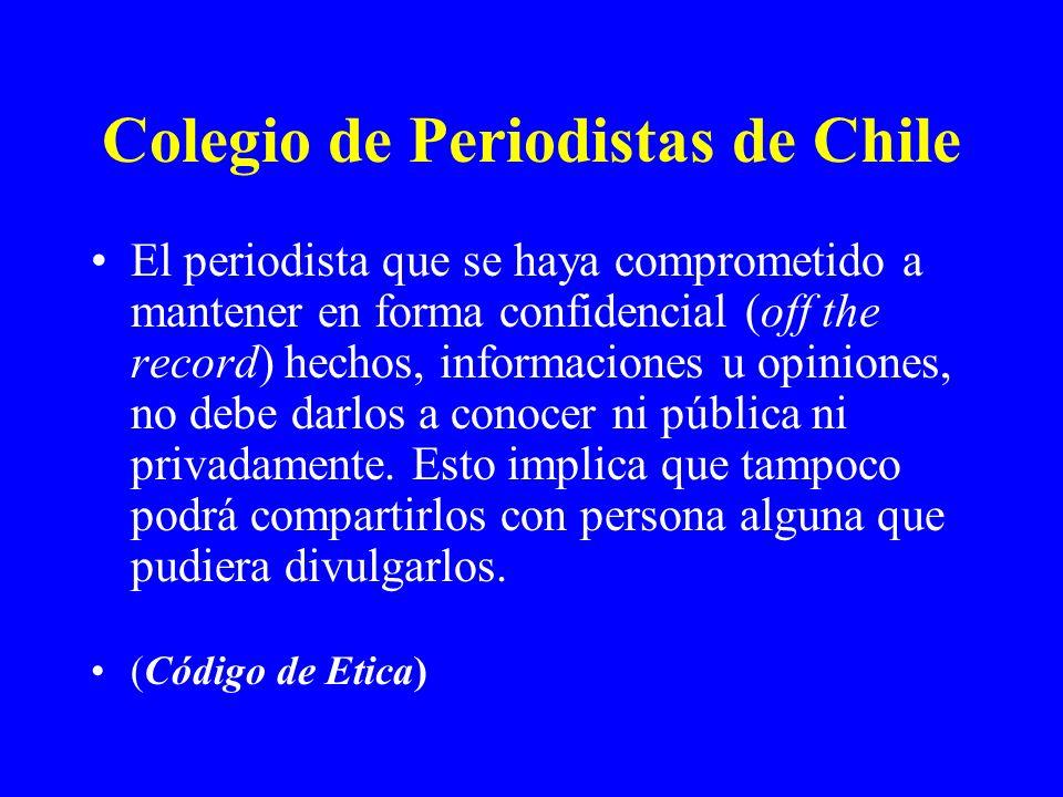Colegio de Periodistas de Chile