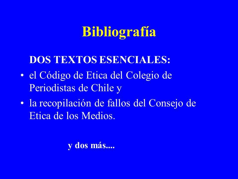 Bibliografía DOS TEXTOS ESENCIALES: