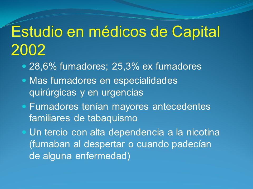 Estudio en médicos de Capital 2002