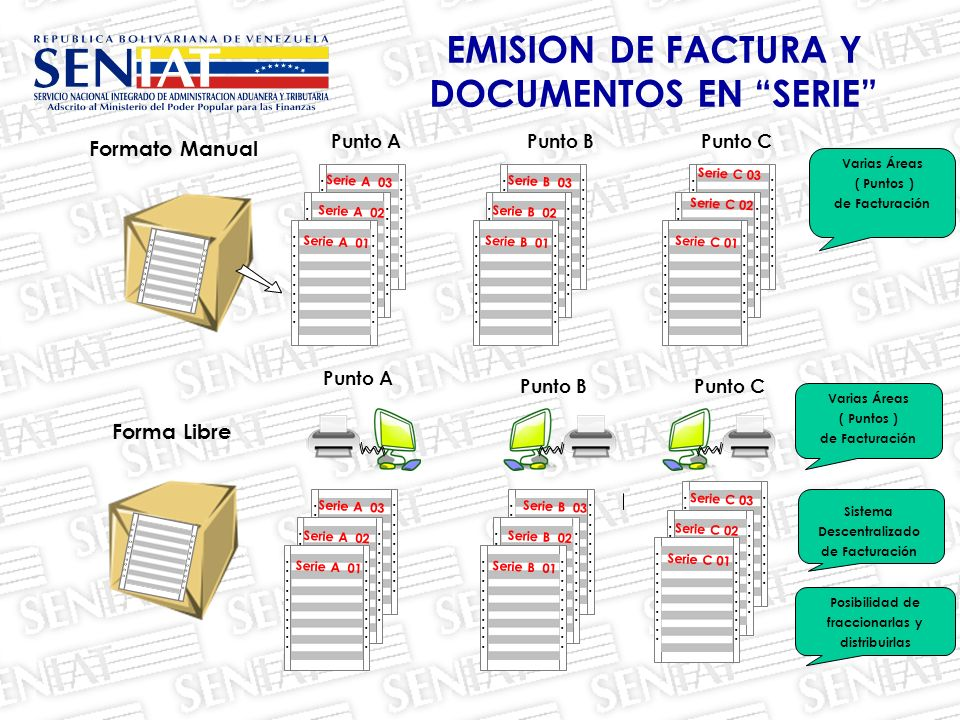 EMISION DE FACTURA Y DOCUMENTOS EN SERIE