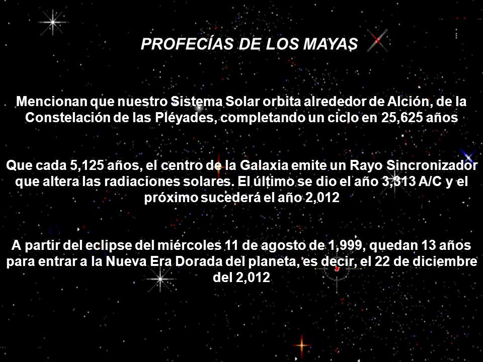PROFECÍAS MAYAS PROFECÍAS DE LOS MAYAS