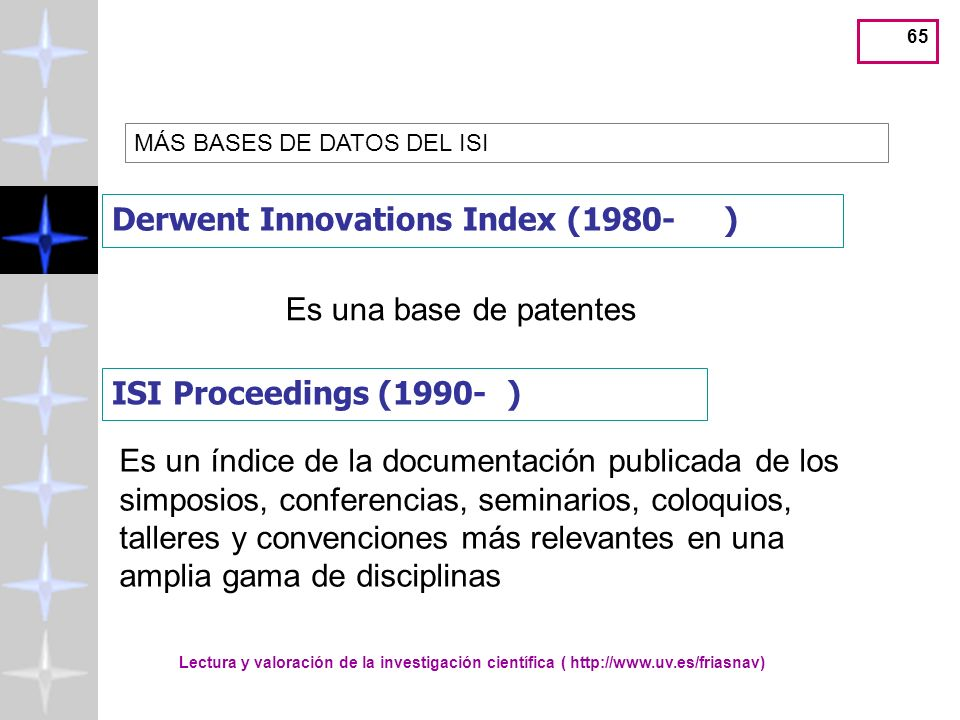 Derwent Innovations Index (1980- )