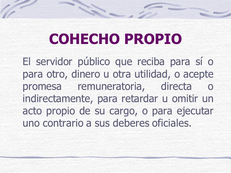 COHECHO PROPIO