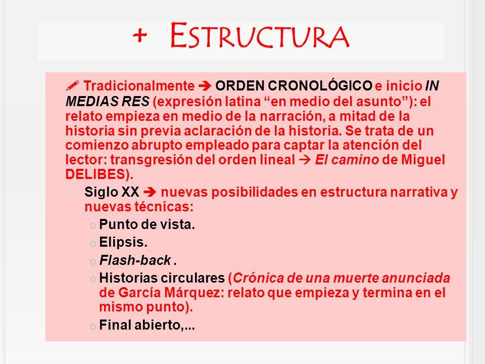 + Estructura