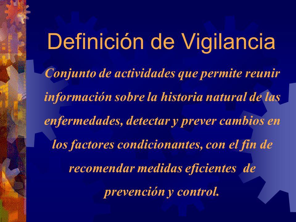 Definición de Vigilancia