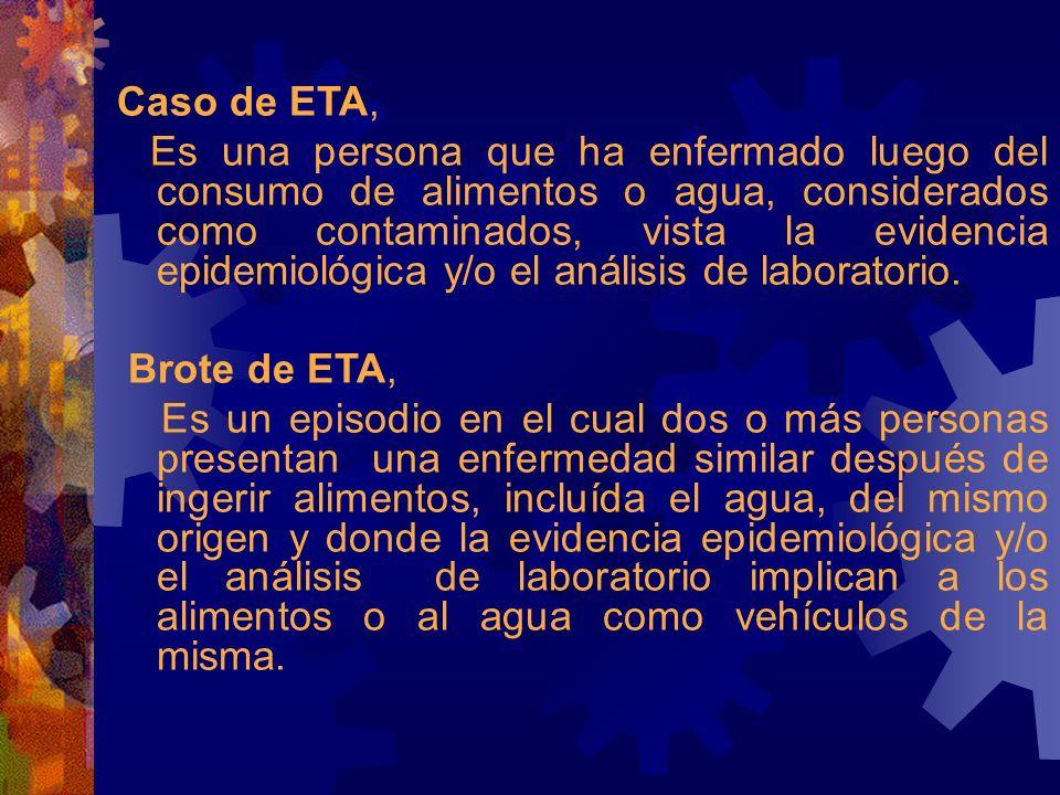 Caso de ETA,