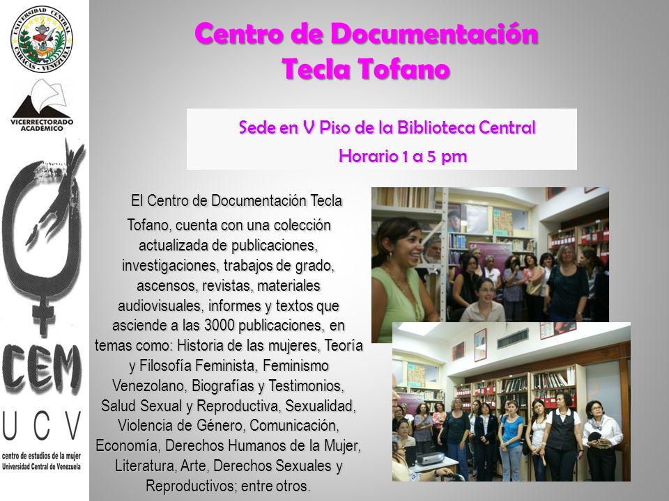 Centro de Documentación Tecla Tofano