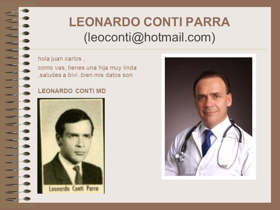 LEONARDO CONTI PARRA (leoconti@hotmail.com)