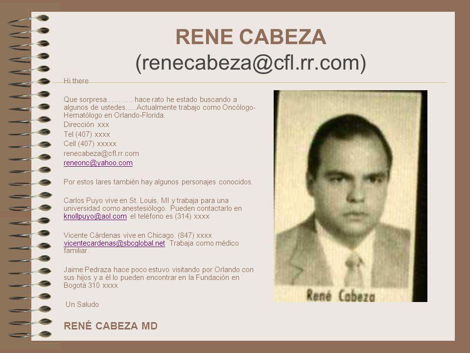 RENE CABEZA (renecabeza@cfl.rr.com)